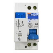 Диференційний вимикач ДВ-2002 6А 30мА АСКО