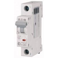 Автоматический выключатель HL-C20/1 20А, кривая отключения С, 1 полюс Eaton