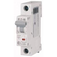 Автоматический выключатель HL-C25/1 25А, кривая отключения С, 1 полюс Eaton