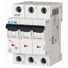 Автоматичний вимикач  PL6-C16/3 Eaton