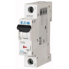 Автоматичний вимикач PL6-C10/1 10А, крива відключення С, 1 полюс Eaton