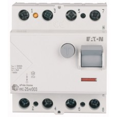 Пристрій захисного відключення Eaton   HNC-25/4/003